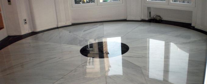 Pulimentos ruiz pulidos y abrillantados de suelos for Suelo marmol blanco